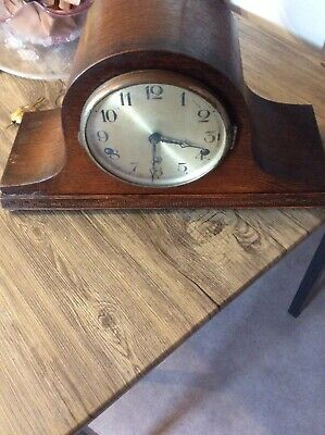 westminster chime Mantle Clock For Spares Or Repair