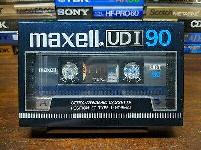 Maxell UDI 90 Blank compact cassette tape Type I