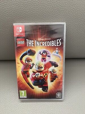 Nintendo Switch Lego The Incredibles Game Brand New