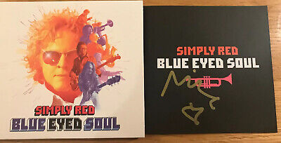 Simply Red Blue Eyed Soul CD Album SIGNED Mick Hucknall New Sealed
