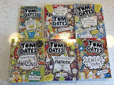Collection of Tom Gates Books by Liz Pichon. Hard And Paperback