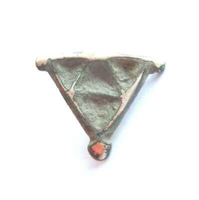 IRON AGE Hallstatt Culture ANCIENT Celtic Silver Suspension - DRUID Amulet***