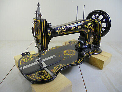 Antique Singer 13k Industrial Fiddlebase Sewing Machine - Head Only