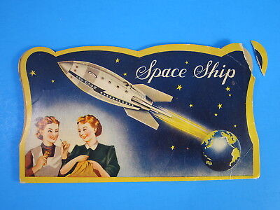 Vintage Space Ship Needles with Threader