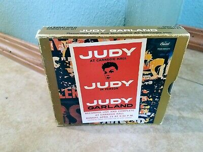 Judy Garland Live And Complete Carnegie Hall cd 2 disc 24 Kt Gold Plated DCC lbl