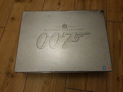 James Bond 007 Ultimate Edition 40-Disc DVD Box Set Complete 20 Film Collection