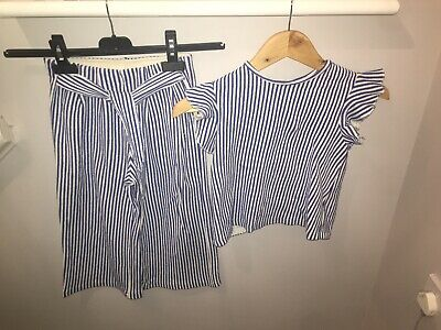 Zara Girls Aged 7 Co-ord Outfit