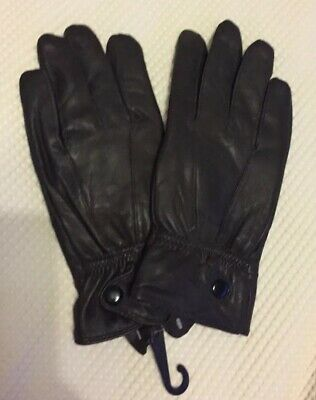 Ladies Brown Leather Gloves Size Small BNWT