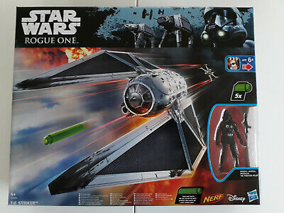 STAR WARS ROGUE ONE Collection Tie Striker Battle Damaged + Pilot Hasbro NEU!!!