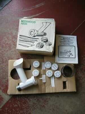 Vintage Kenwood Chef & Major Pasta Maker Attachment Boxed- A936.