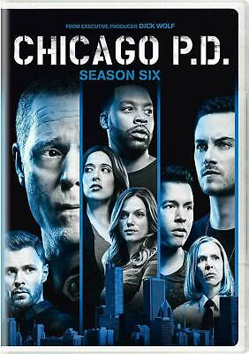 BRAND NEW SEALED CHICAGO PD P.D. COMPLETE SEASON 6 SIX  (DVD, 2019, 6-Disc Set)
