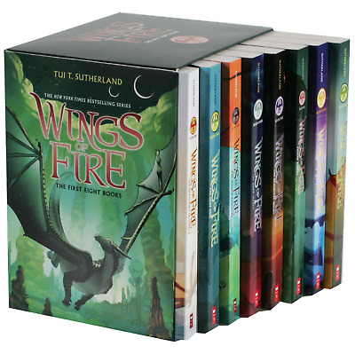 BRAND NEW! Wings of Fire: 8 Book Box Set by Tui T. Sutherland