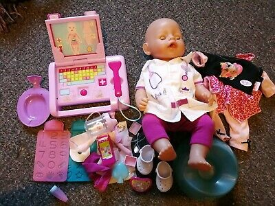 Baby Born Interactive Doll & Accessories