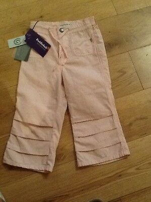 Bnwt Gasolio Girls Pink Trousers Age 4-5 Years