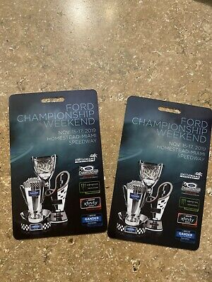 TWO Post Race Passes For All two day of NASCAR Championship LOCAL PICK UP