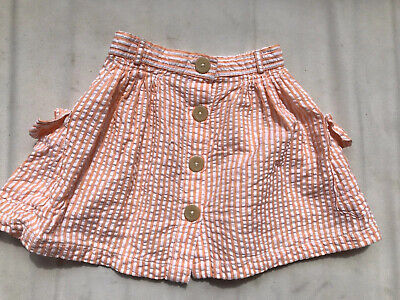 Girls Country Road Cotton Skirt with Pockets Size 4 Excellent Condition