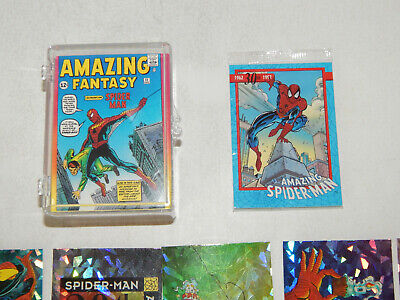 1992 Spider-Man II 30th Anniversary - Complete 90 Card Base Set + 5 Prism Marvel