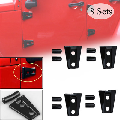 2Pcs ABS Jeep 2/&4-door Body Armor Side Cowl Cover Set For JEEP WRANGLER 07-2016