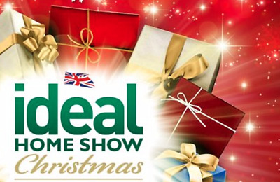 2 x Ideal Home Show Christmas London @ Friday 22nd November 2019