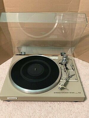 Vintage Pioneer PL-514 Automatic Return Record Player Turntable Tested Working!