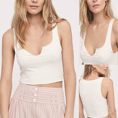 Camisole Tank Tops Women Summer Basic Crop Top Streetwear Fashion Girls Camis CA
