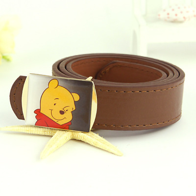 Kids Children Faux Leather Belts Adjustable Buckle Belt Waist Belts Boy's Belt