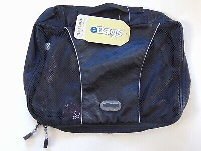EBags Classic Packing Cubes Travel - 4 Piece Lot - Medium -  Black - NEW -  NWT