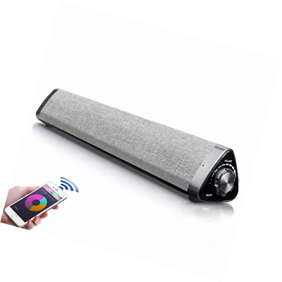 Soundbar,Fityou Bluetooth Wireless for TV with Subwoofers Rechargeable Portable