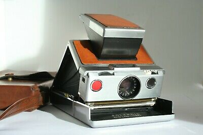 Polaroid SX-70 sx70 vintage land camera USED ...UNTESTED. with pouch
