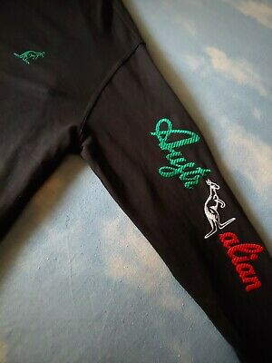 JACKET sweetshirt vintage AUSTRALIAN by l' Alpina TG 52-L  circa  made in Italy