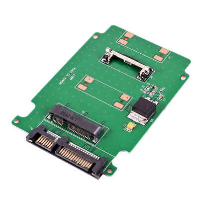 Mini Msata Pci-E Ssd 50Mm To 2.5 Inch Sata 7+15Pin Adapter Converter Card 5 Y9E6