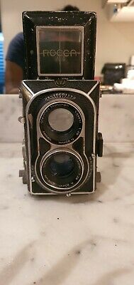 Edixa Montanus Rocca Super Reflex 2.8 Camera Beautiful HighGrade TLR 6x6 - Rare