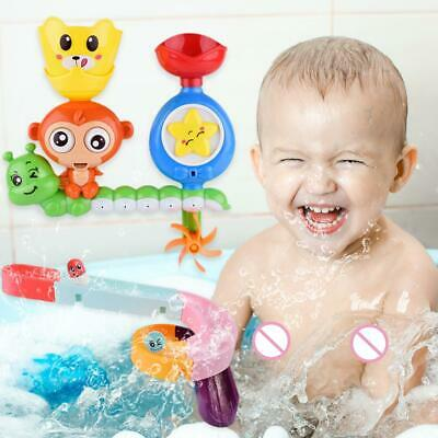 Bath Swim Toy Water Whirly Wand Cup Beach Toy For Toddler Baby Children Gift-JT