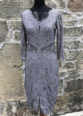 Olvi's Lace, Mother of the Bride Dress, Taupe, UK 10-12