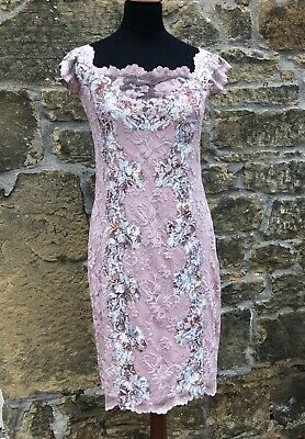 Olvi's Lace, Mother of the Bride Stretch Lace, Outfit, Pink, UK 10-12