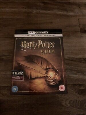Harry Potter Complete Collection - 4K Ultra HD - 8 Film Boxset - UK