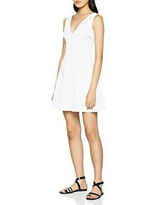 Guess Evita Dress Size S White Brand New With Tags