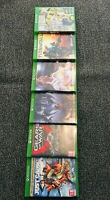 6 Xbox One Games Bundles Gears Of War Just Cause 3 Prey Fifa 18, 17 Titanfall