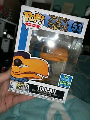 Funko Pop Toucan 2019 SDCC Shared Exclusive Limited Edition