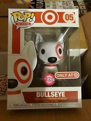 Funko Pop Flocked Bullseye Target Exclusive 2019 SDCC Debut Ad Icons #05 ON HAND