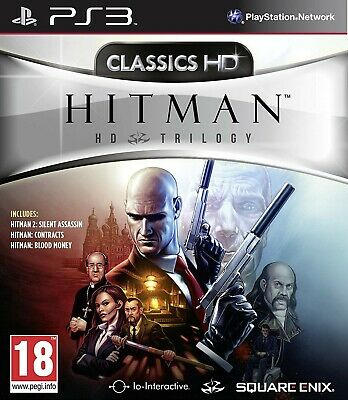 Hitman Hd Trilogy Playstation 3 Ps3 Raro Ita