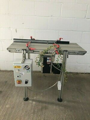 MK Technology Group ltd Belt Conveyor with Variable Speed Control and Rails