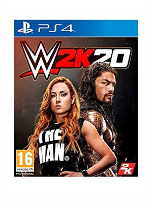 Playstation 4-WWE 2K20 GAME NEW