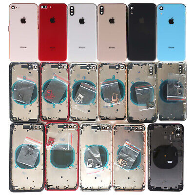 NEW Back Glass Housing Battery Cover Frame Assembly For iPhone 8 X XS Max XR XS