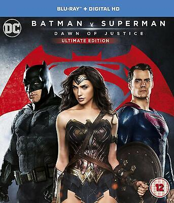 Batman v Superman Dawn of Justice 2 DISC Ultimate Edition SEALED BLU RAY SEE P2