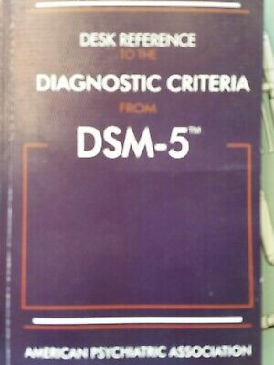Desk Reference to the Diagnostic Criteria From DSM-5 Paperback Used like new