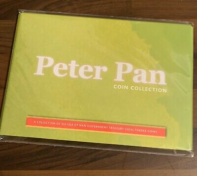 Isle Of Man- 2019 - Peter Pan Six 50p Coin Collection - Brilliant Uncirculated