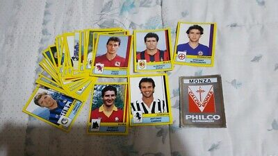Lotto Di 35 Figurine Calciatori Panini 1988 89