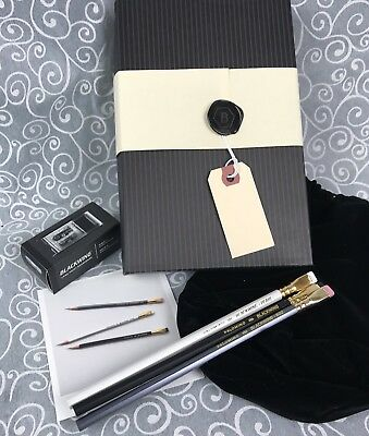 Palomino Blackwing Gift Set Pencils Long Point Sharpener 602 Pearl