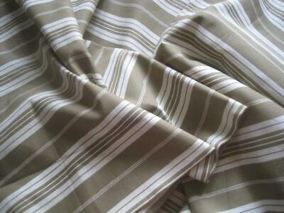 Excellent Vintage French Striped Linen Ticking Fabric, Upholstery, Curtains Etc
